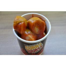 Currywurstbecher 8oz 200ml (Angebot ohne Inhalt)