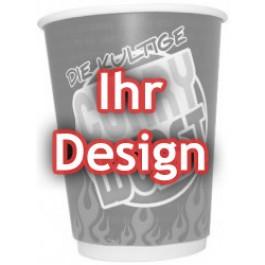 individuell bedruckte Food-Cups, flach, 10.000 Stück