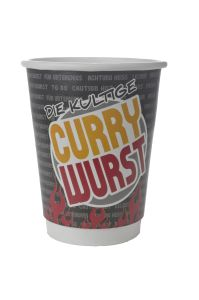 Currywurst Becher Front